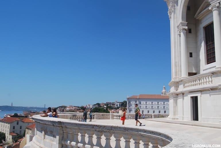 Miradouro do Panteão Nacional, Lisboa