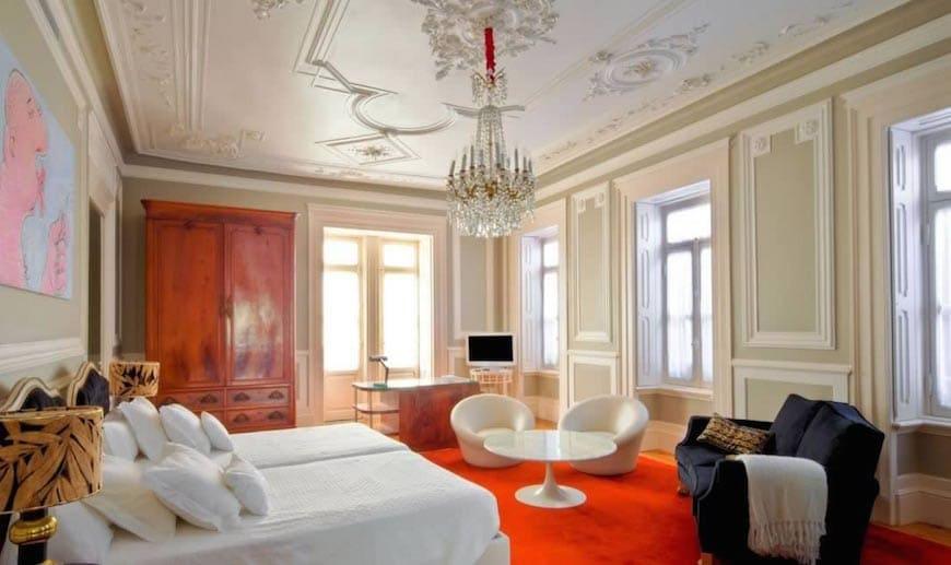 Boutique hotels in lisbon hot is de charme em lisboa for Charme design boutique hotel favignana